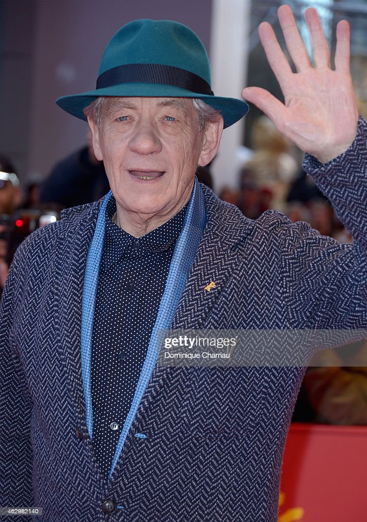 <a gi-track='captionPersonalityLinkClicked' href=/galleries/search?phrase=Ian+McKellen&family=editorial&specificpeople=202983 ng-click='$event.stopPropagation()'>Ian McKellen</a> attends the 'Mr. Holmes' premiere during the 65th Berlinale International Film Festival at Berlinale Palace on February 8, 2015 in Berlin, Germany.
