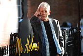 Ian McKellen attends the UK Premiere of 'Mr Holmes' at ODEON Kensington on June 10 2015 in London England