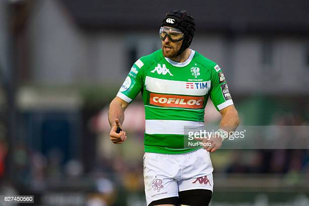 Ian McKinley of Benetton pictured during the Guinness PRO12 Round 10 match between Connacht Rugby and Benetton Treviso at the Sportsground in Galway...