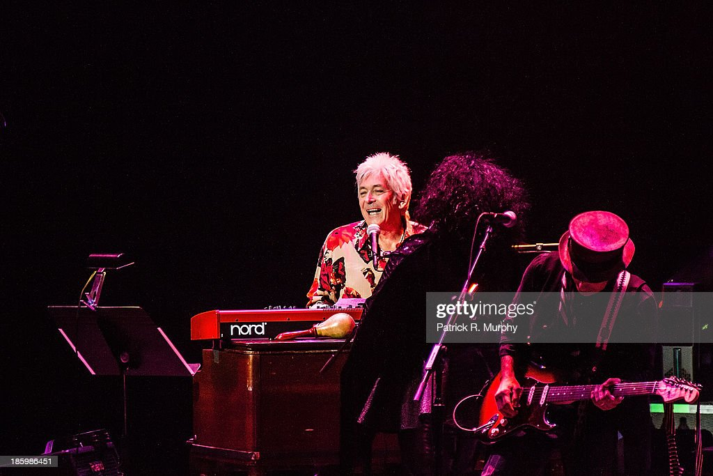 Ian McLagan performs at the 18th annual Music Masters series honoring The Rolling Stones at the State Theatre on October 26, 2013 in Cleveland, Ohio.