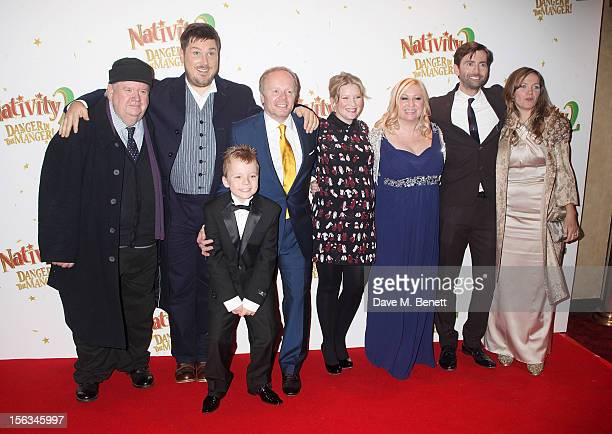Ian McNeice Marc Wootton Ben Wilby Jason Watkins Joanna Page Debbie Isitt David Tennant and Jessica Hynes attend the 'Nativity 2 Danger In The...