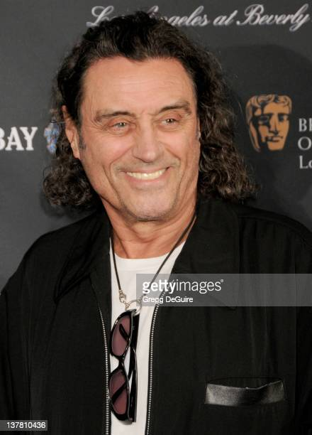 Ian McShane arrives at the 17th Annual BAFTA Los Angeles Awards Season Tea Party at the Four Seasons Hotel on January 15 2011 in Los Angeles...