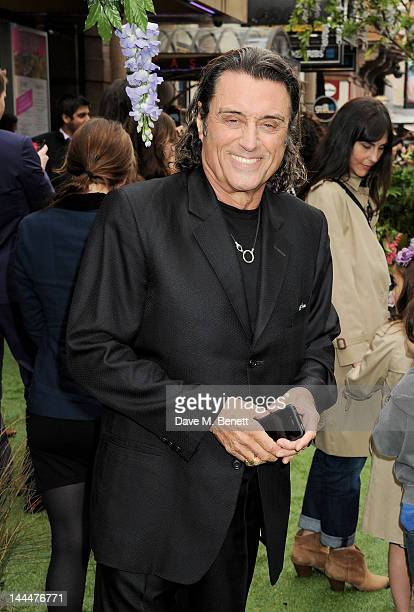 Ian McShane attends the World Premiere of 'Snow White And The Huntsman' at Empire Leicester Square on May 14 2012 in London England