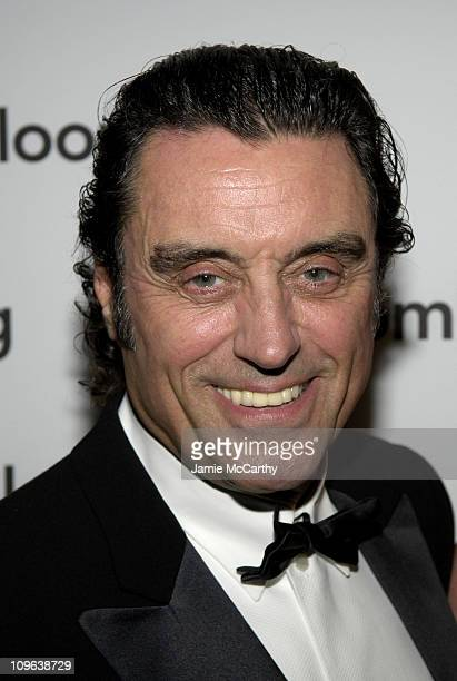 Ian McShane during Bloomberg Hosts Pre Cocktail Party For 2005 Whitehouse Correspondents Association Dinner at Edison Room Hilton Hotel in Washington...