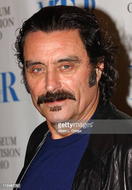 Ian McShane during 'Deadwood' at the 22nd Annual William S Paley Television Festival at The Director's Guild Of America in West Hollywood California...