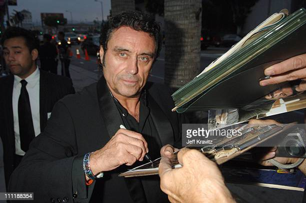 Ian McShane during 'Deadwood' Season Premiere Red Carpet at Cinerama Dome in Hollywood California United States