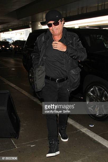 Ian McShane is seen at LAX on October 06 2016 in Los Angeles California