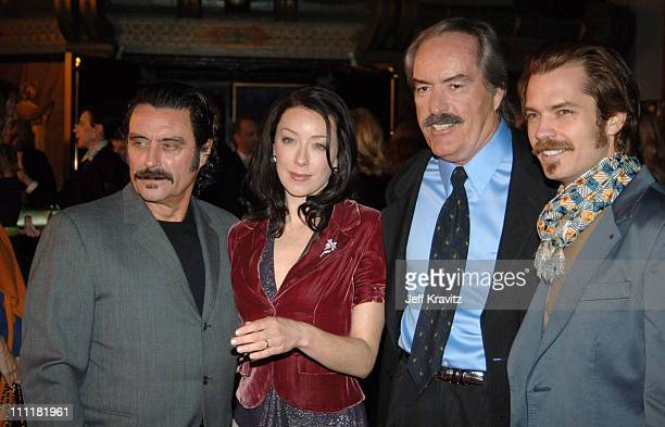 Ian McShane Molly Parker Powers Boothe and Timothy Olyphant