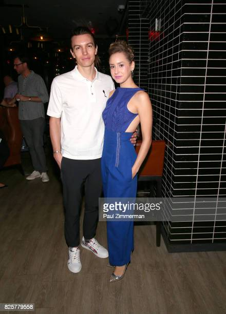 Ian Mellencamp and Jazmin Grimaldi attend The Weinstein Company With FIJI Grey Goose Lexus And NetJets Host A Screening Of 'Wind River' After Party...