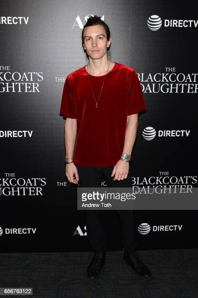 Ian Mellencamp attends a screening of 'The Blackcoat's Daughter' hosted by A24 and DirecTV with The Cinema Society at Landmark Sunshine Cinema on...