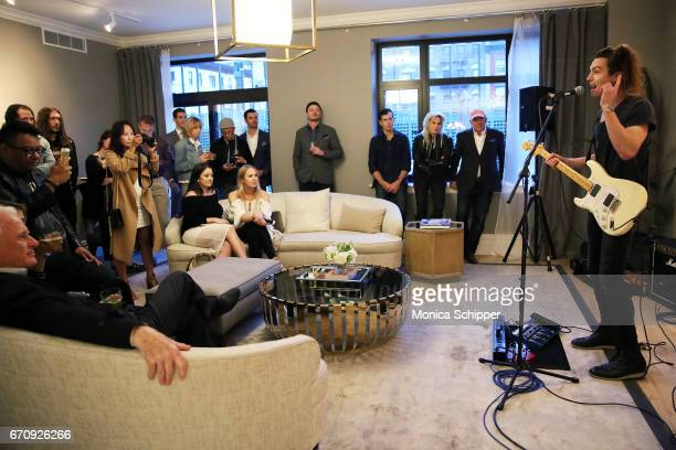 Ian Mellencamp performs at ALFA APARTMENT SESSIONS At 199 Mott In NYC on April 20 2017 in New York City