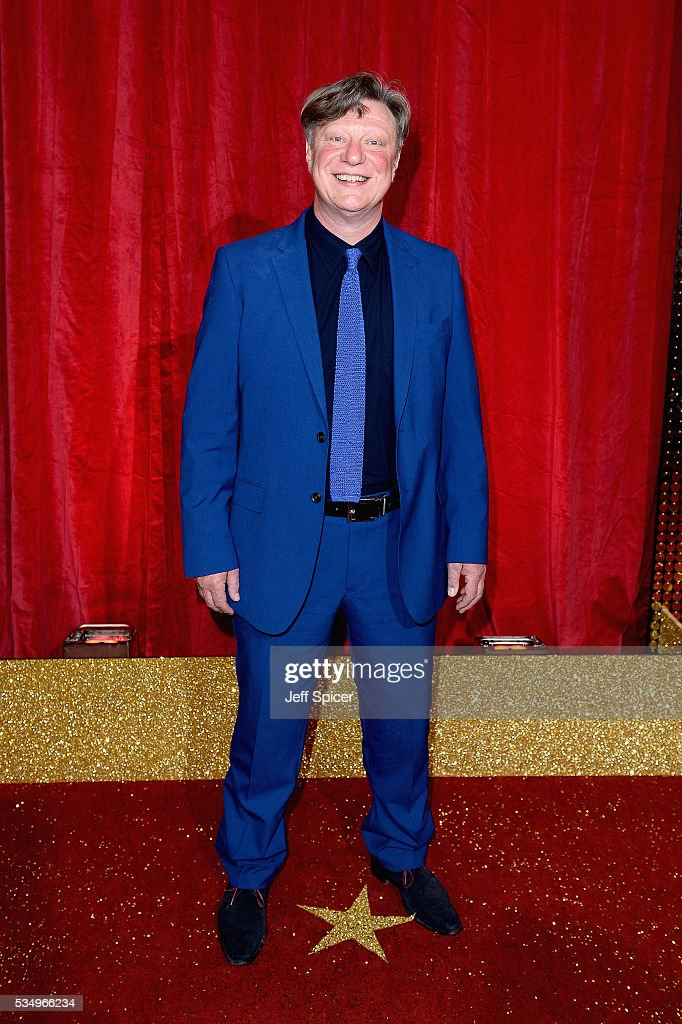 Ian Mercer attends the British Soap Awards 2016 at Hackney Empire on May 28, 2016 in London, England.
