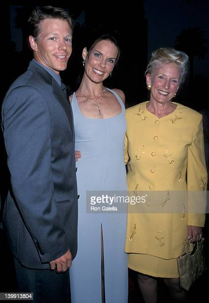 Ian Murray Alexandra Paul and Mother In Law at the 10th Anniversary Gala for 'Baywatch' Miramar Farimont Hotel Santa Monica