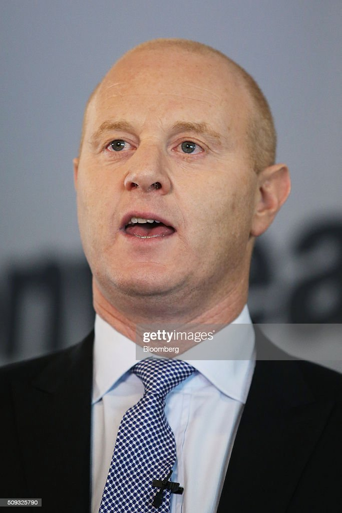 Ian Narev, chief executive officer of Commonwealth Bank of Australia (CBA), speaks during a news conference in Sydney, Australia, on Wednesday, Feb. 10, 2016. Commonwealth Bank warned of the risks posed by global economic turbulence as the lender posted its slowest first-half profit growth since the financial crisis. Photographer: Brendon Thorne/Bloomberg via Getty Images