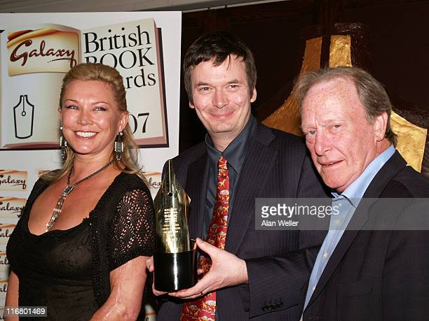 Ian Rankin Crime Thriller of the Year with presenters Amanda Redman and Dennis Waterman