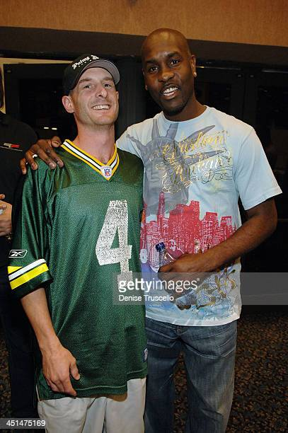 Ian Ritchie and professional basketball player Gary Payton attend the 2008 World Championship of Fantacy Football Celebrity League at the Hilton...