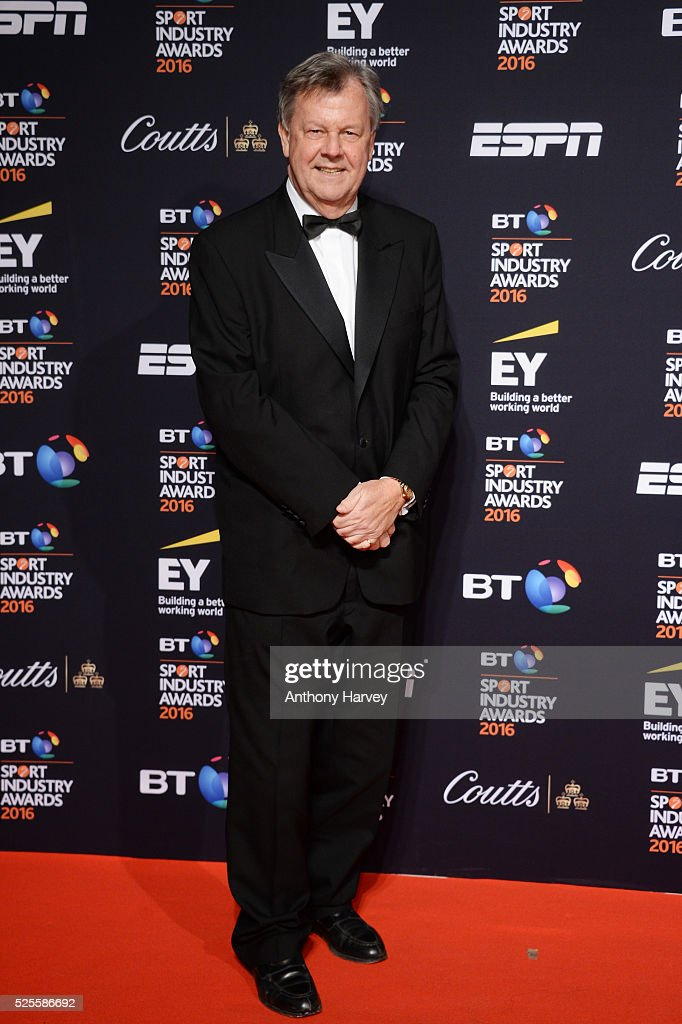 Ian Ritchie the Chief Executive of the RFU poses on the red carpet at the BT Sport Industry Awards 2016 at Battersea Evolution on April 28, 2016 in London, England. The BT Sport Industry Awards is the most prestigious commercial sports awards ceremony in Europe, where over 1750 of the industry's key decision-makers mix with high profile sporting celebrities for the most important networking occasion in the sport business calendar.