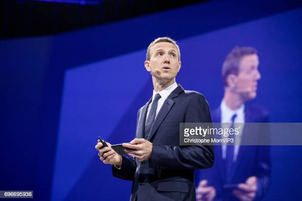 Ian Rogers Digital Chief Officer of LVMH attends a conference during Viva Technology at Parc des Expositions Porte de Versailles on June 16 2017 in...