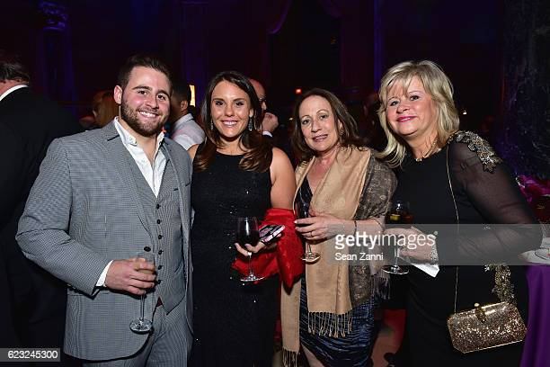 Ian Ross Erica Macero Nancy Greene and Lyn Ross attend the Silver Hill Hospital 2016 Giving Hope Gala at Cipriani 42nd Street on November 14 2016 in...