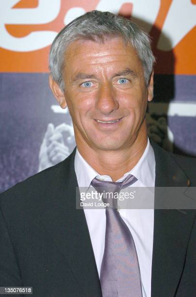 Ian Rush during FA Cup Legends Lunch Departures at Savoy in London Great Britain
