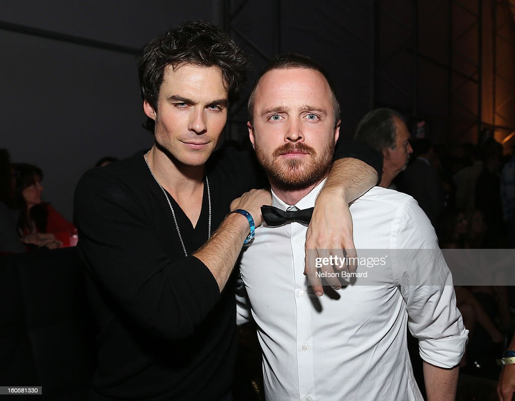 Ian Somerhalder, and Aaron Paul attend DIRECTV Super Saturday Night Featuring Special Guest Justin Timberlake & Co-Hosted By Mark Cuban's AXS TV on February 2, 2013 in New Orleans, Louisiana.
