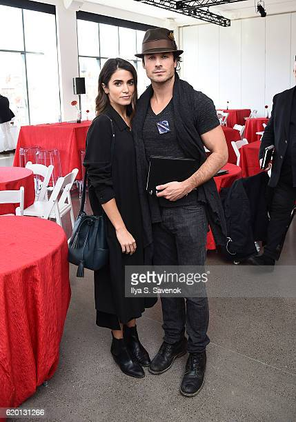 Ian Somerhalder and Nikki Reed attend PTTOW SESSIONS and WORLDZ Kickoff Party at Spring Place on November 1 2016 in New York City