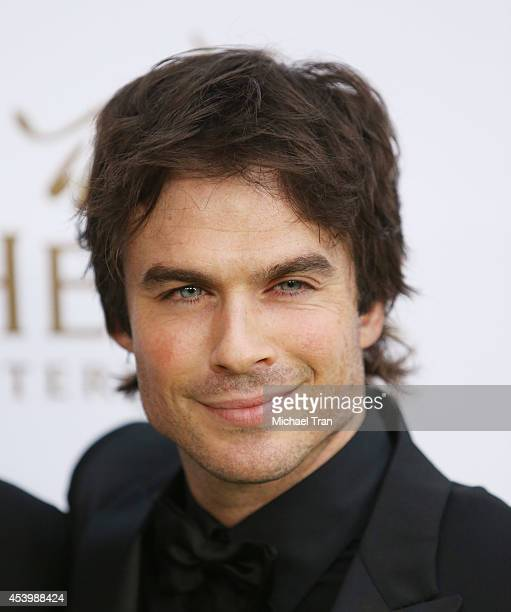 Ian Somerhalder arrives at the Heifer International's 3rd Annual Beyond Hunger Gala held at Montage Beverly Hills on August 22 2014 in Beverly Hills...
