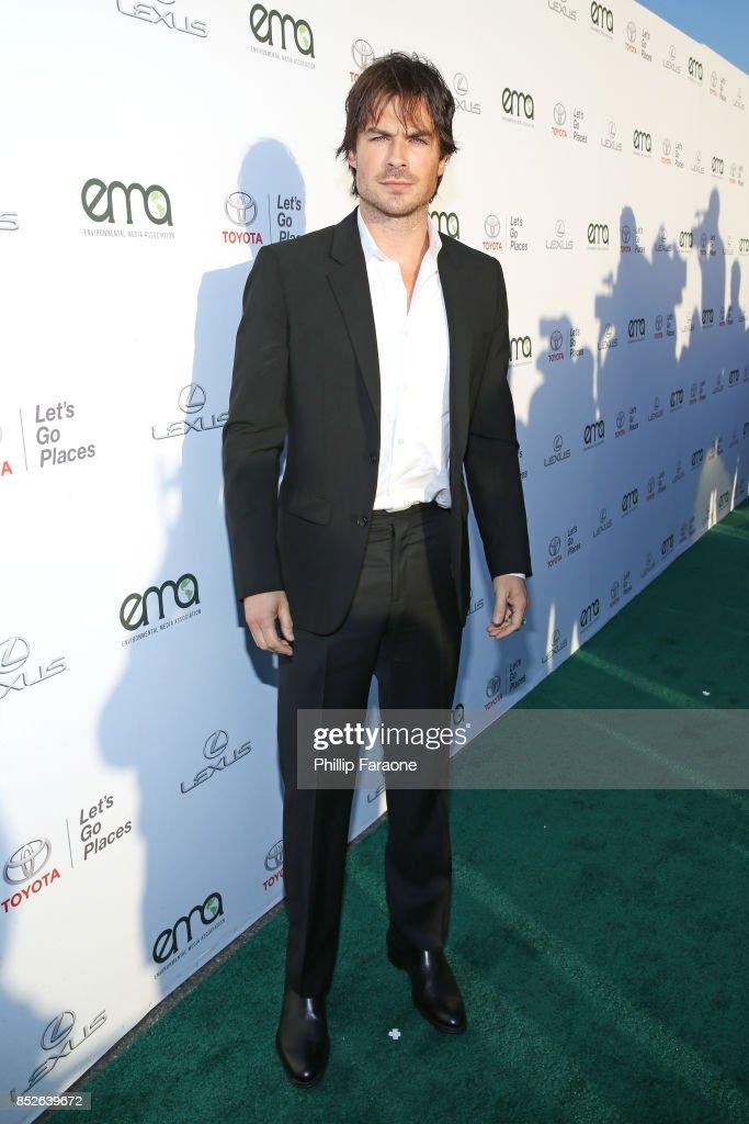 Ian Somerhalder at the Environmental Media Association's 27th Annual EMA Awards at Barkar Hangar on September 23, 2017 in Santa Monica, California.