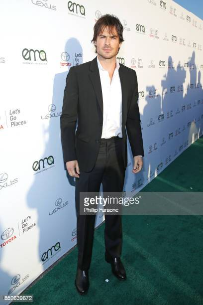 Ian Somerhalder at the Environmental Media Association's 27th Annual EMA Awards at Barkar Hangar on September 23 2017 in Santa Monica California