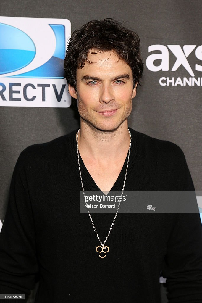 <a gi-track='captionPersonalityLinkClicked' href=/galleries/search?phrase=Ian+Somerhalder&family=editorial&specificpeople=614226 ng-click='$event.stopPropagation()'>Ian Somerhalder</a> attends DIRECTV Super Saturday Night Featuring Special Guest Justin Timberlake & Co-Hosted By Mark Cuban's AXS TV on February 2, 2013 in New Orleans, Louisiana.