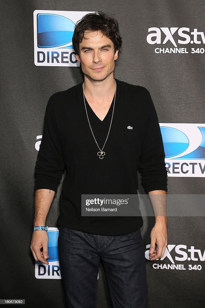 Ian Somerhalder attends DIRECTV Super Saturday Night Featuring Special Guest Justin Timberlake & Co-Hosted By Mark Cuban's AXS TV on February 2, 2013 in New Orleans, Louisiana.