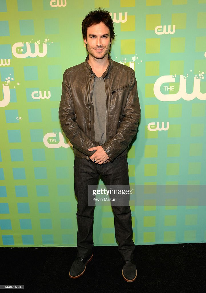 Ian Somerhalder attends the CW Network's 2012 Upfront at The London Hotel on May 17, 2012 in New York City.