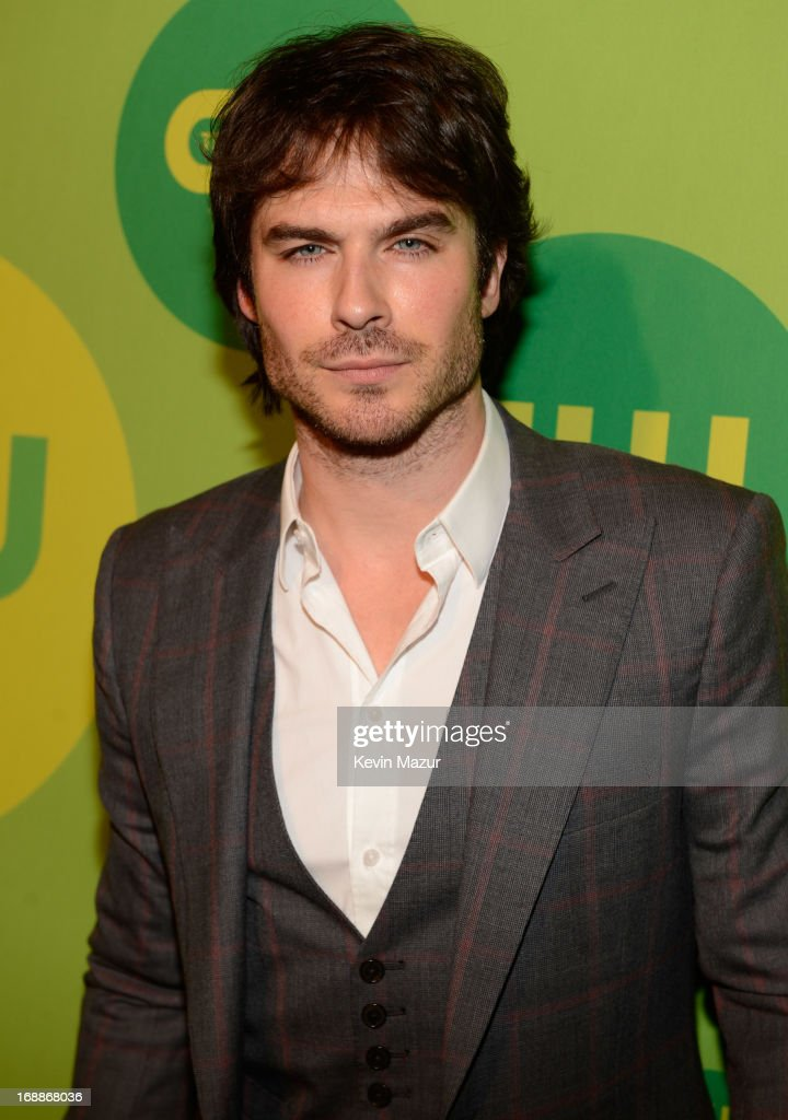 <a gi-track='captionPersonalityLinkClicked' href=/galleries/search?phrase=Ian+Somerhalder&family=editorial&specificpeople=614226 ng-click='$event.stopPropagation()'>Ian Somerhalder</a> attends the CW Network's 2013 Upfront at The London Hotel on May 16, 2013 in New York City.