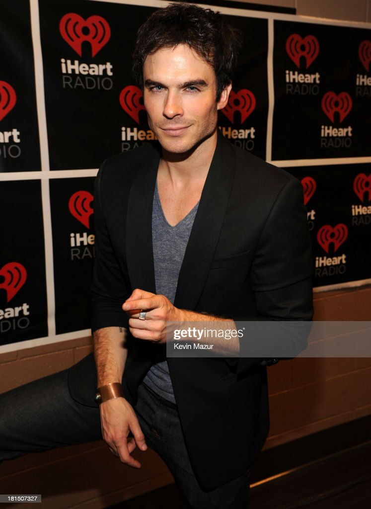 Ian Somerhalder attends the iHeartRadio Music Festival at the MGM Grand Garden Arena on September 20, 2013 in Las Vegas, Nevada.