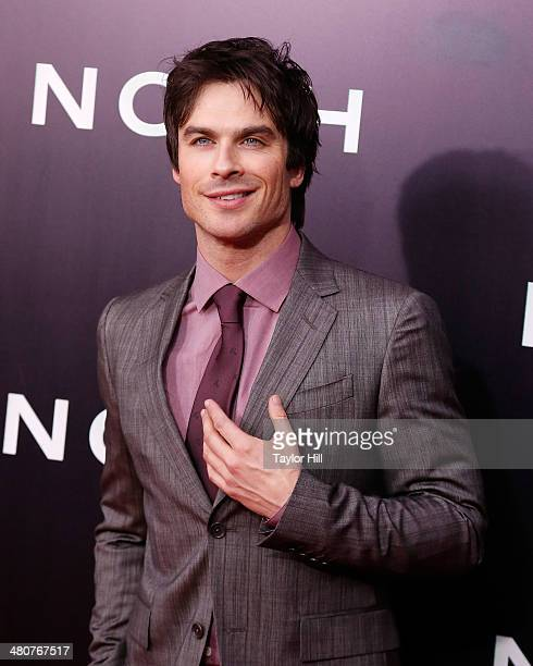 Ian Somerhalder attends the 'Noah' premiere at Ziegfeld Theatre on March 26 2014 in New York City