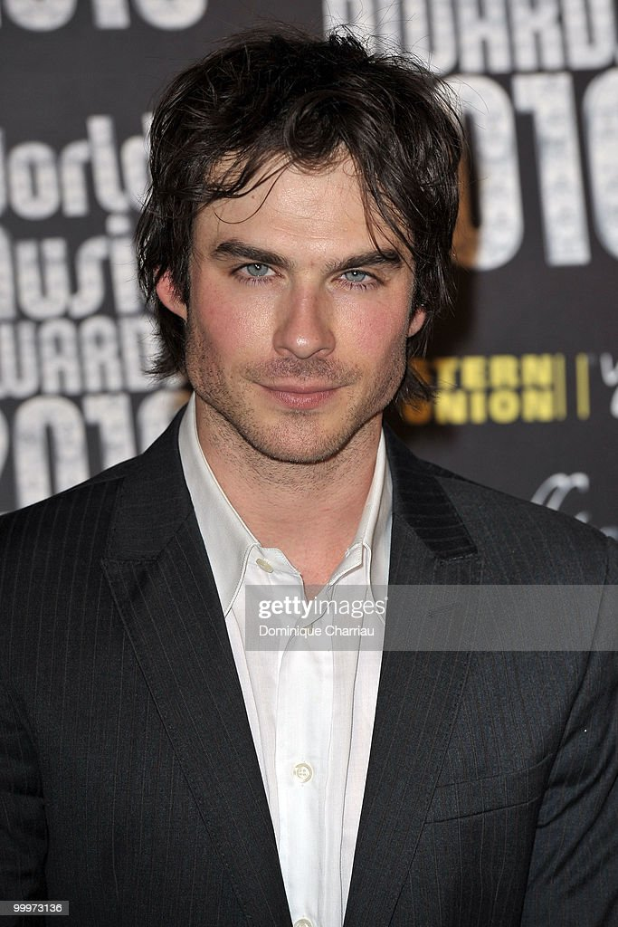 Ian Somerhalder attends the World Music Awards 2010 at the Sporting Club on May 18, 2010 in Monte Carlo, Monaco.