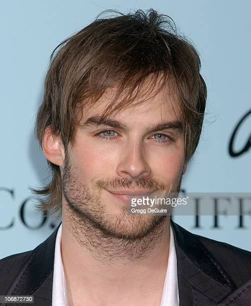 Ian Somerhalder during Tiffany Co Celebrates The Launch Of Frank Gehry's Premier Collection On Rodeo Drive Arrivals at Tiffany Co Store in Beverly...