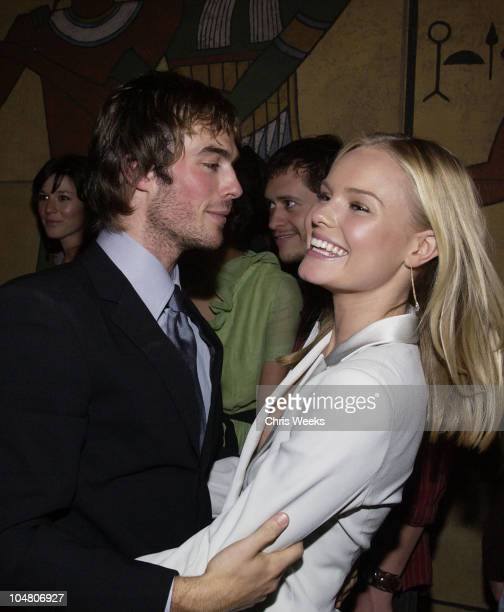 Ian Somerhalder Kate Bosworth during Premierei of The Rules of Attraction Hosted by Flaunt Magazine at The Egyptian Theatre in Hollywood CA United...