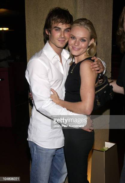 Ian Somerhalder Kate Bosworth during 'The Rules Of Attraction' Screening at Egyptian Theatre in Hollywood California United States