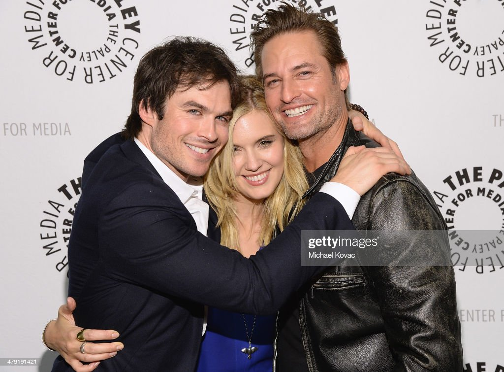 <a gi-track='captionPersonalityLinkClicked' href=/galleries/search?phrase=Ian+Somerhalder&family=editorial&specificpeople=614226 ng-click='$event.stopPropagation()'>Ian Somerhalder</a>, <a gi-track='captionPersonalityLinkClicked' href=/galleries/search?phrase=Maggie+Grace&family=editorial&specificpeople=213706 ng-click='$event.stopPropagation()'>Maggie Grace</a> and <a gi-track='captionPersonalityLinkClicked' href=/galleries/search?phrase=Josh+Holloway&family=editorial&specificpeople=458791 ng-click='$event.stopPropagation()'>Josh Holloway</a> attend The Paley Center For Media's PaleyFest 2014 Honoring 'Lost: 10th Anniversary Reunion' at Dolby Theatre on March 16, 2014 in Hollywood, California.