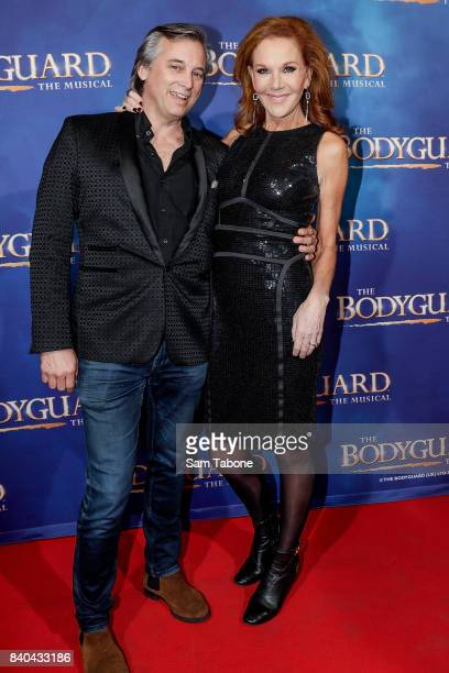 Ian Stenlake and Rhonda Burchmore during a production media call for The Bodyguard at Regent Theatre on August 29 2017 in Melbourne Australia