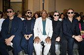 Giorgio Armani - Front Row - Milan Men's Fashion Week...