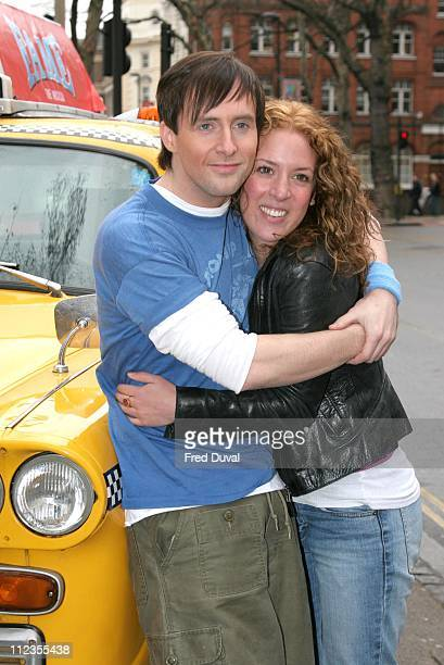 Ian Watkins and Natalie Casey during 'Fame' The Musical Photocall March 22 2007 at Shaftesbury Theatre in London Great Britain