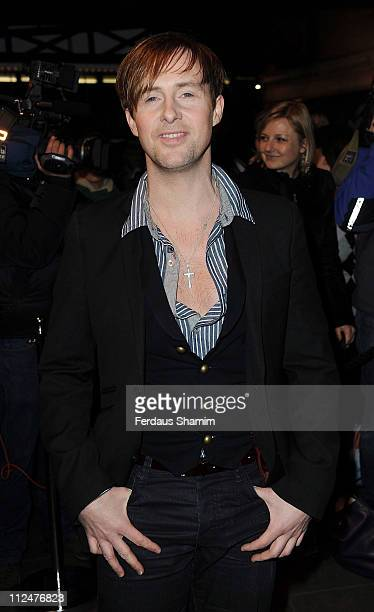 Ian Watkins attends the gala night of Priscilla Queen Of The Desert The Musical at Palace Theatre on March 24 2009 in London England