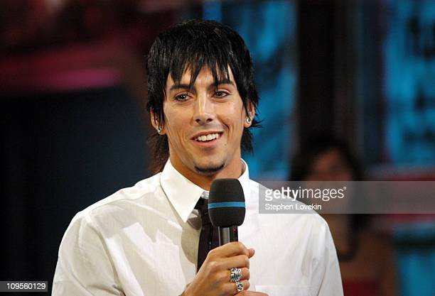 Ian Watkins of Lost Prophets during Lost Prophets and Ludo Visit Fuse 'Daily Download' July 13 2004 at Fuse Studios in New York City New York United...