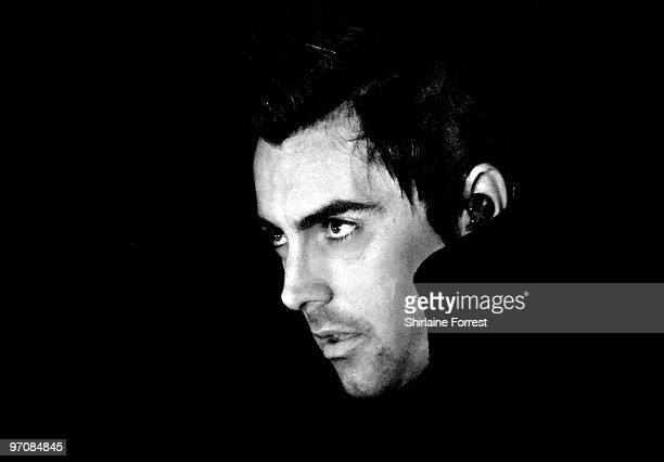 Ian Watkins of Lostprophets performs at Manchester Apollo on February 25 2010 in Manchester England