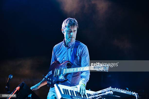 Ian Williams of Battles performs live at NOS Primavera Sound on June 11 2016 in Porto Portugal
