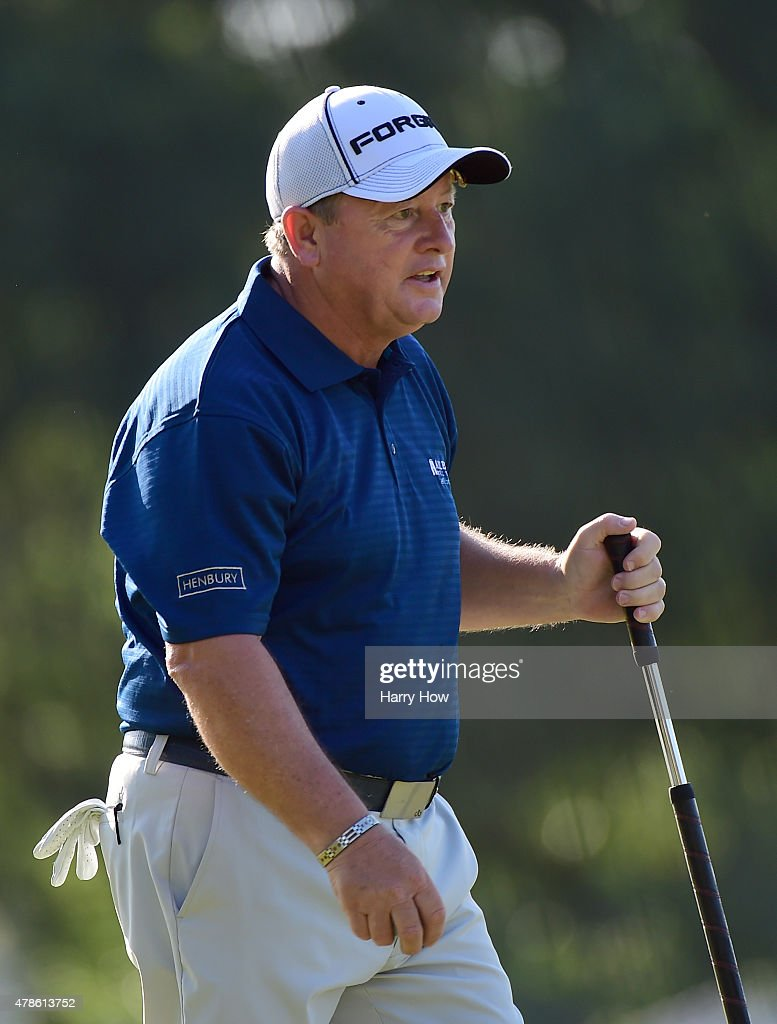 Ian Woosnam of Wales during round one of the U.S. Senior Open Championship at the Del Paso Country Club on June 25, 2015 in Sacramento, California.
