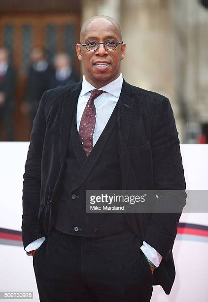 Ian Wright attends The Sun Military Awards at The Guildhall on January 22 2016 in London England