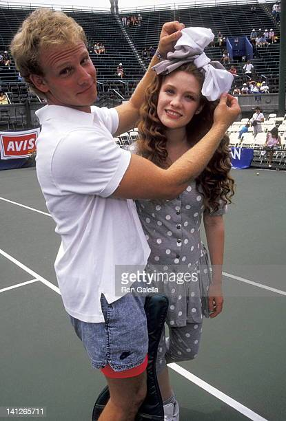 Ian Ziering and Khrystyne Haje at the Juvenile Diabetes Benefit New York Westside Tennis Club New York City